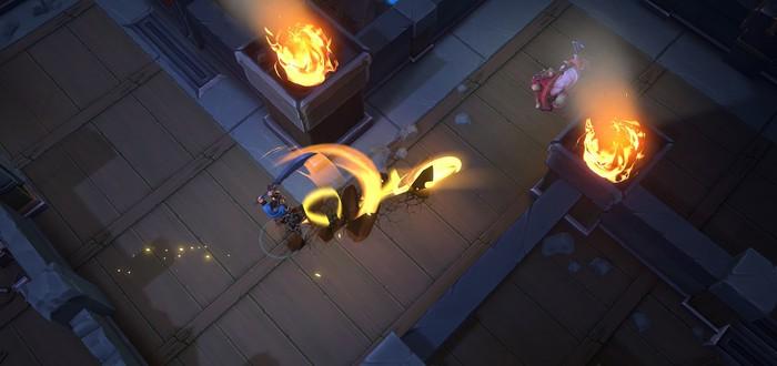 Первый геймплейный трейлер Battlerite Royale