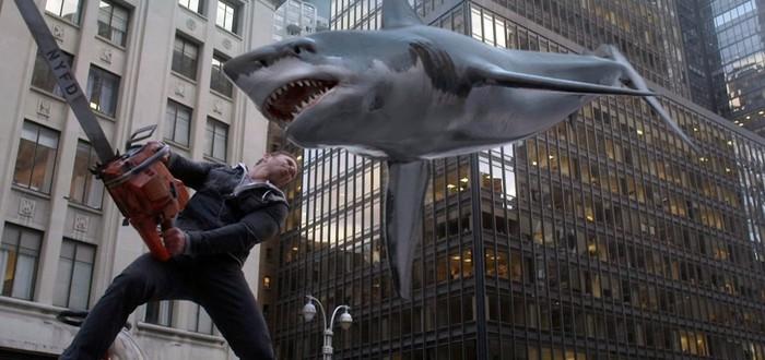 Кошмарные чудовища и абсурд в трейлере Sharknado 6