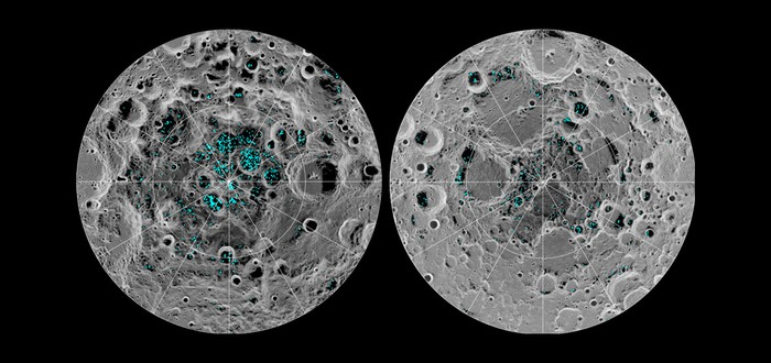 NASA подтвердила наличие льда на поверхности Луны