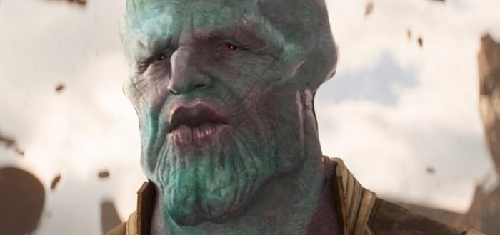 """Фанат """"Войны бесконечности"""" превратил Таноса в красивого Сквидварда"""