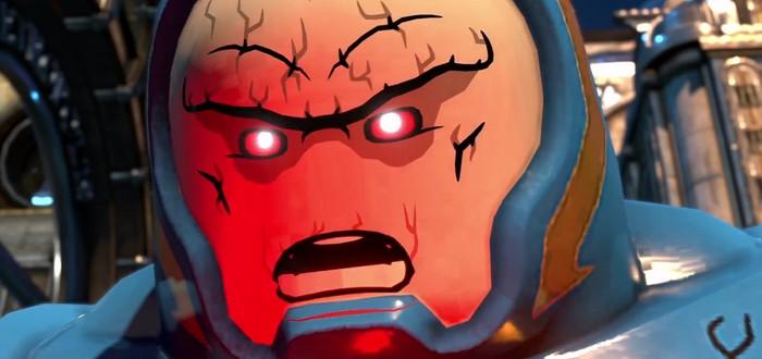 Сюжетный трейлер LEGO DC Super-Villains с участием Дарксайда