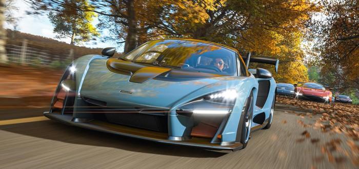 7 минут геймплея Forza Horizon 4 на Xbox One X