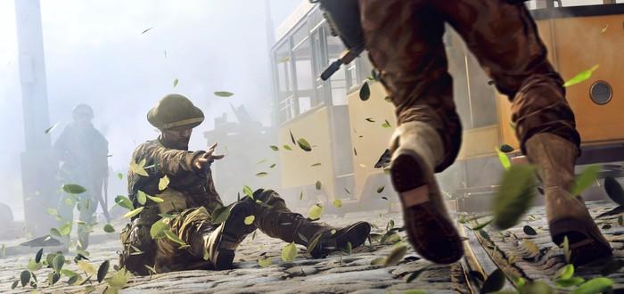 16 минут геймплея Battlefield 5 с трассировкой лучей