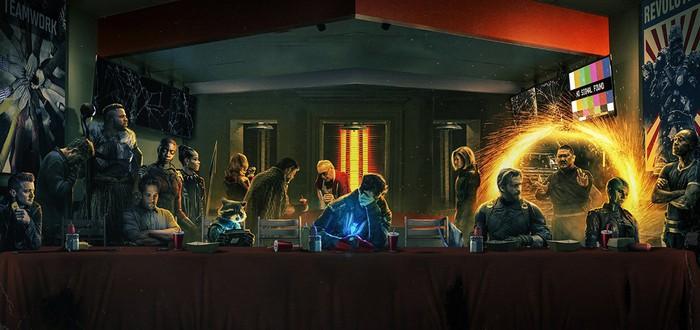 Последняя Шаурма Мстителей — до и после Таноса