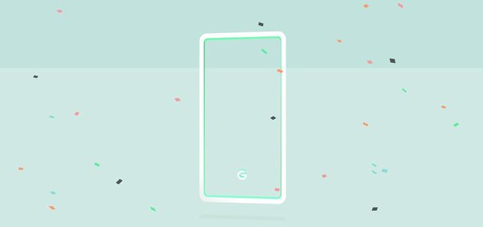 Google анонсировала три цвета для Pixel 3: мятный, белый и черный