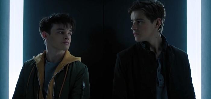 Джейсон Тодд и Дик Грейсон в тизере сериала Titans