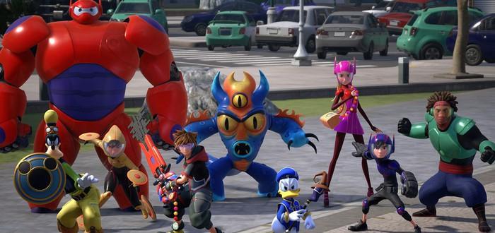 Расширенный трейлер и новые скриншоты Kingdom Hearts III