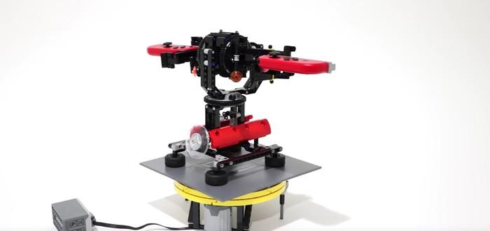 Умелец создал прочную версию Nintendo Labo из Lego