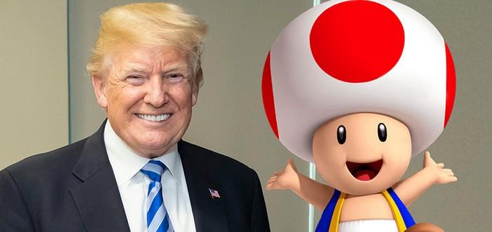 Mario Kart стал горячей темой для обсуждения после сравнения Тоада с половым органом Дональда Трампа