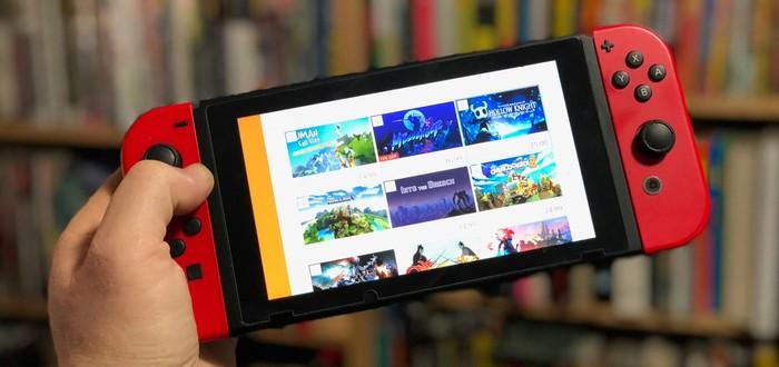 Nintendo Switch на первом месте по продажам в США за август