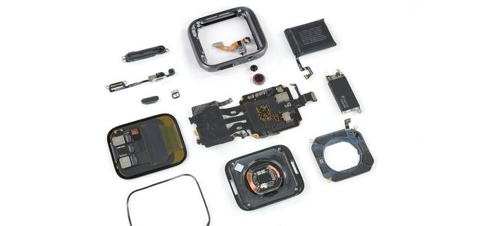 Вскрытие новых часов Apple Watch