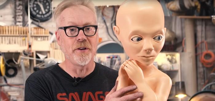 """Адам Сэвидж создал куклу ребёнка из финала """"Космической Одиссеи"""""""