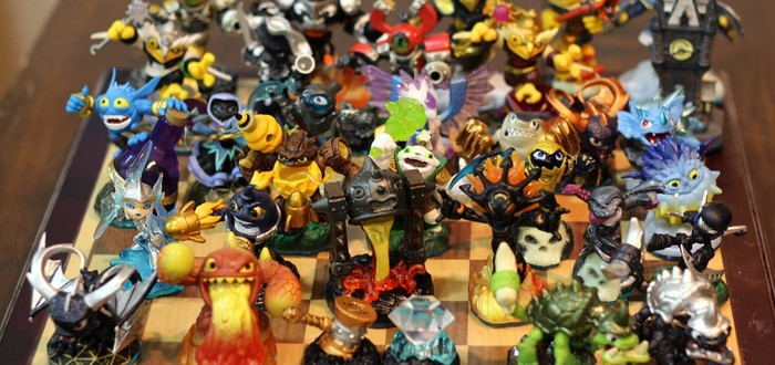 Toys for Bob отправила 200 фигурок Skylanders в музей