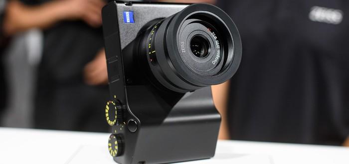 Компания Zeiss представила первую цифровую камеру ZX1