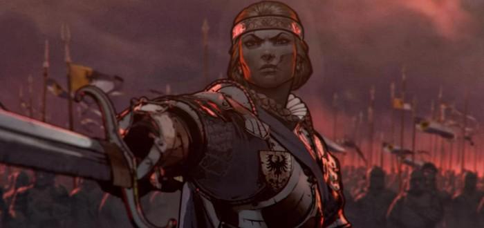 Почти полтора часа геймплея Thronebreaker: The Witcher Tales