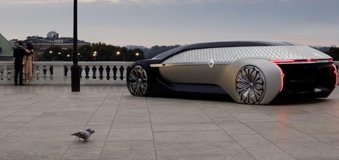 Renault показала беспилотный концепт-кар EZ-Ultimo