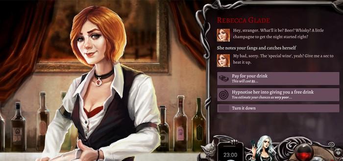 Вампирская RPG Nighthawks собрала средства на Kickstarter