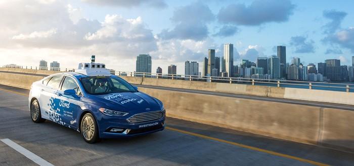Ford сделает управление беспилотным автомобилем похожим на игру