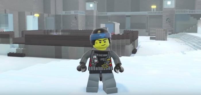 В LEGO Worlds воссоздали остров из Metal Gear Solid