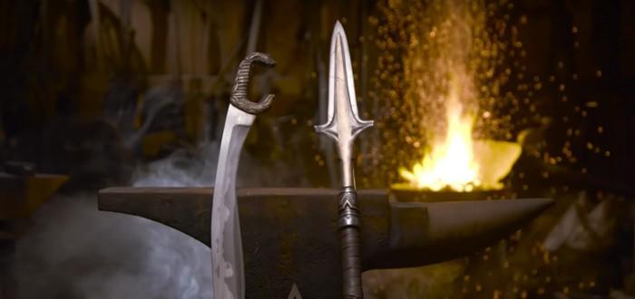Man at Arms воссоздали копьё царя Леонида из Assassin's Creed: Odyssey