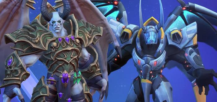 Мал'Ганис из Warcraft 3 стал новым героем Heroes of the Storm