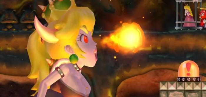 Боузетта стала финальным босом в New Super Mario Bros Wii