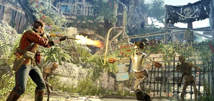 Первое сюжетное DLC для Strange Brigade посвящёно скелетам-пиратам