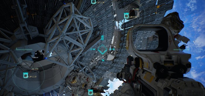Геймлейный ролик Project Boundary — космического шутера для PS4