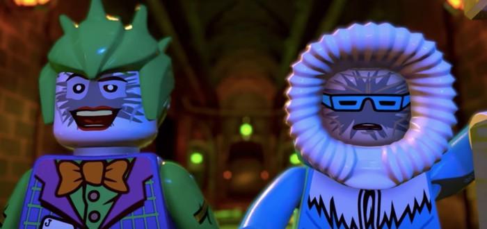 Полная анархия в релизном трейлере LEGO DC Super-Villains