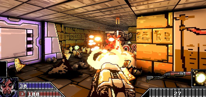 Project Warlock — красочный и брутальный FPS в стиле 90-ых