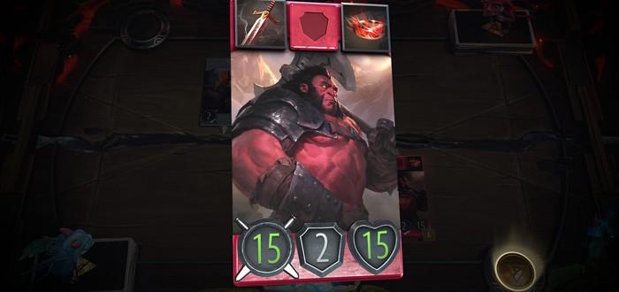 Первый взгляд на режим драфта в карточной игре Artifact