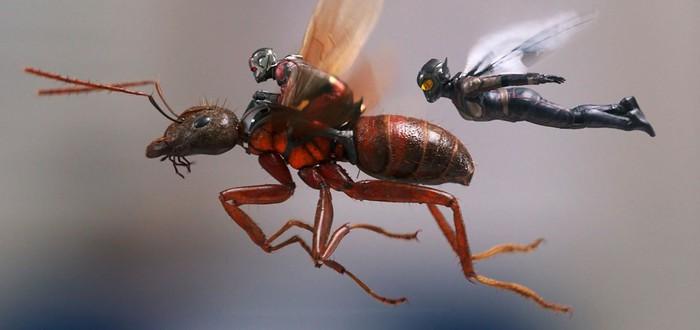"""Как создавались визуальные эффекты в кинокомиксе """"Человек-муравей и Оса"""""""