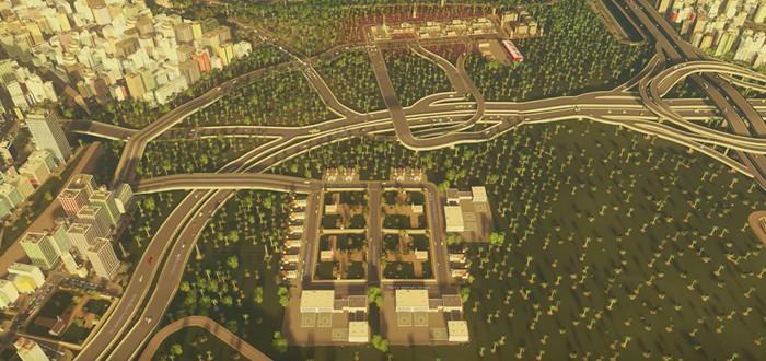 Медитативный таймлапс Cities: Skylines