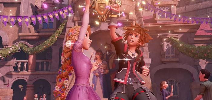 Новый трейлер Kingdom Hearts III посвящен Рапунцель