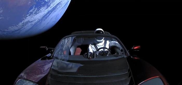 Родстер SpaceX пролетел Марс