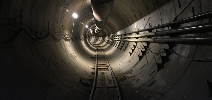 Готовый туннель The Boring Company в Лос-Анджелесе показали на видео