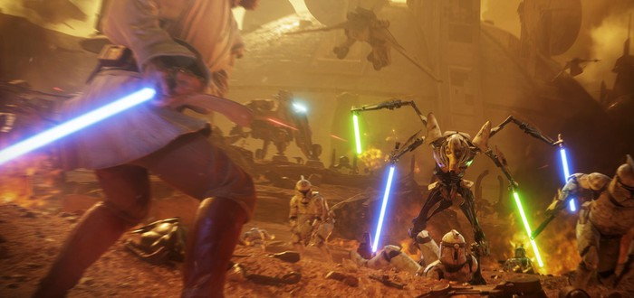Первый взгляд на Оби-Вана Кеноби в Star Wars Battlefront 2