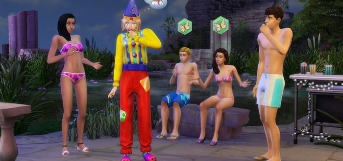 В The Sims 4 появится вид от первого лица