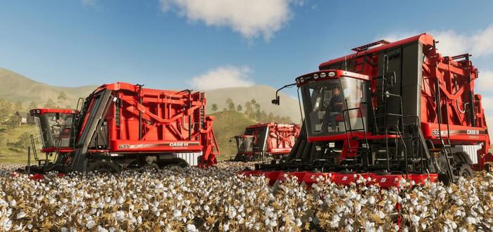 Разнообразие техники в новом трейлере Farming Simulator 19