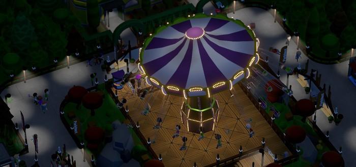 Симулятор строительства парка аттракционов Parkitect выйдет из раннего доступа в конце ноября