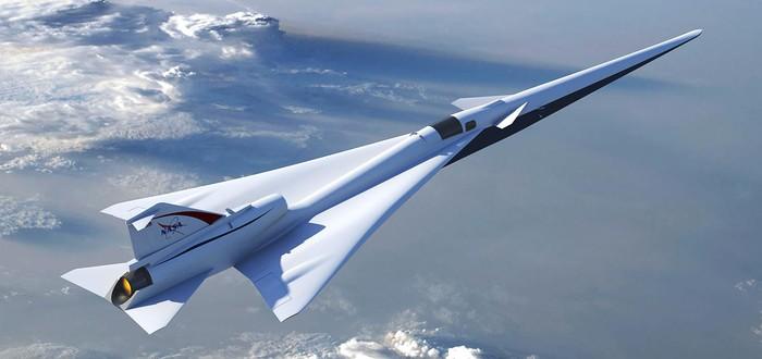 Lockheed Martin разрабатывает тихий сверхзвуковой самолет для NASA