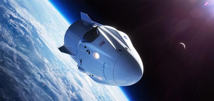 NASA выбрала дату первого полета капсулы SpaceX для астронавтов