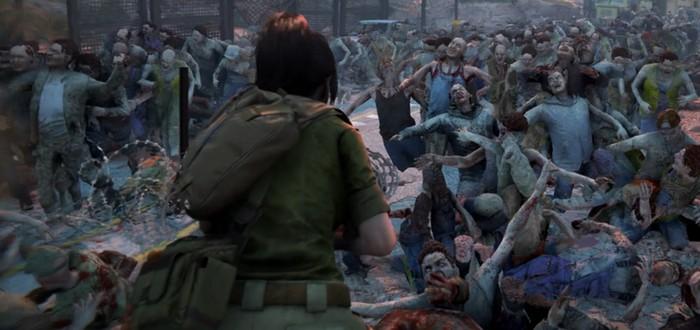 18 минут геймплея кооперативного сурвайвала World War Z