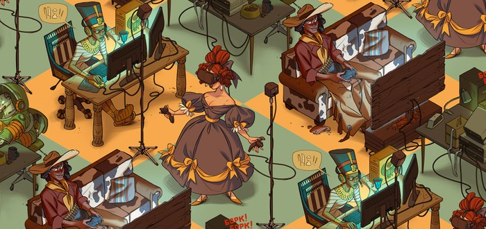 Все играют на PC: Нефертити, Лайка и даже Мэри Шелли