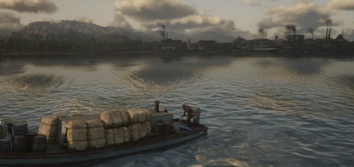 Баг Red Dead Online заставляет пароходы падать с неба