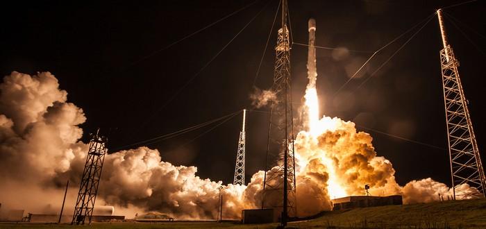 Прямой эфир: Третий запуск уже летавшей ракеты Falcon 9