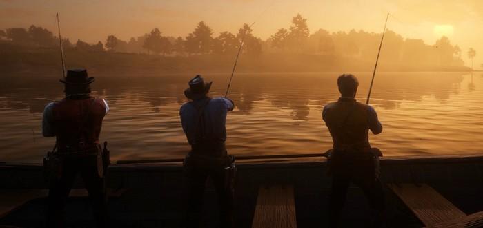 Red Dead Online: как рыбачить прямо из лагеря