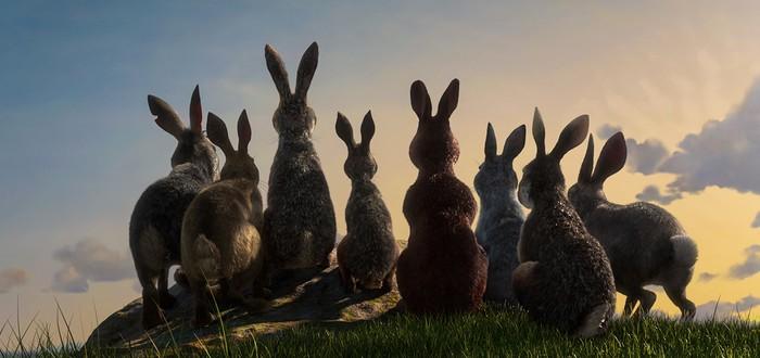 """Джеймс МакЭвой руководит восстанием кроликов в трейлере """"Обитатели холмов"""""""