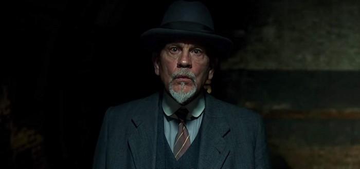Джон Малкович в роли Эркюля Пуаро в трейлере мини-сериала The ABC Murders