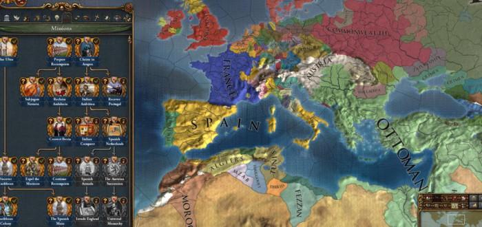 Для Europa Universalis IV вышло дополнение Golden Century
